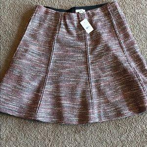 Ann Taylor Loft Tweed skirt NWT